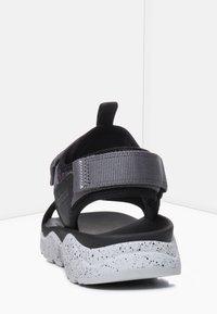 Timberland - RIPCORD - Walking sandals - black - 3
