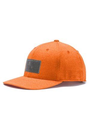 Keps - vibrant orange