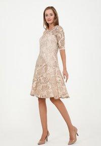 Madam-T - SAPALERI - Cocktail dress / Party dress - beige - 3