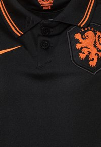 Nike Performance - NIEDERLANDE SET - Sportovní kraťasy - black/safety orange - 4