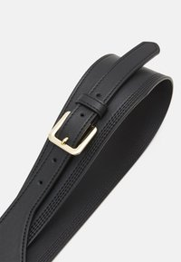 Pieces - PCGLORINNA WAIST BELT - Midjebelte - black/gold - 3