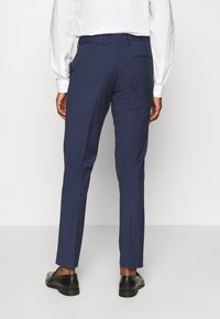 Isaac Dewhirst - CHECK TUX - Garnitur - dark blue - 5