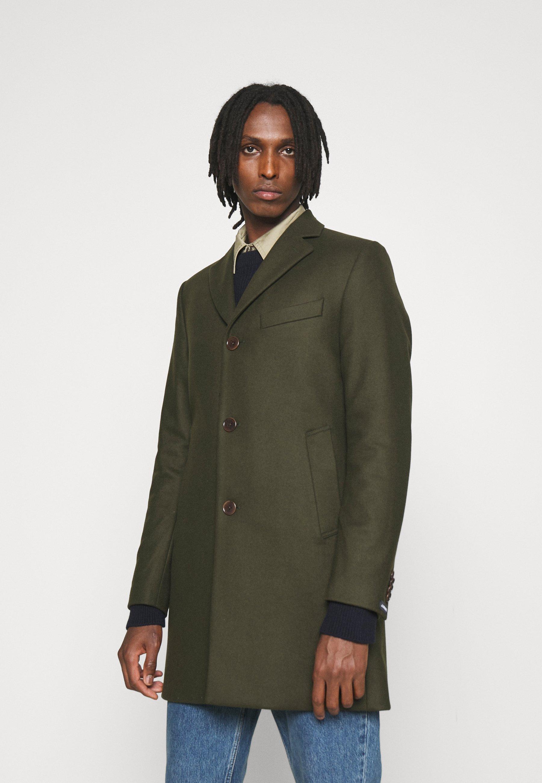 Uomo WOLGER COMPACT MELTON COAT - Cappotto classico