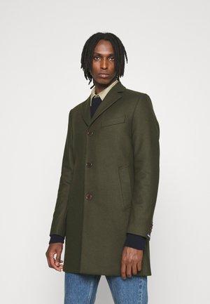 WOLGER COMPACT MELTON COAT - Klasický kabát - seaweed green