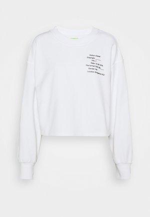 UFTL-FELPH - Pyjama top - white