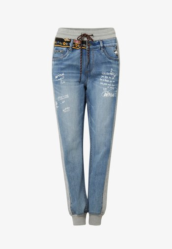 DISNEY - Slim fit jeans - blue