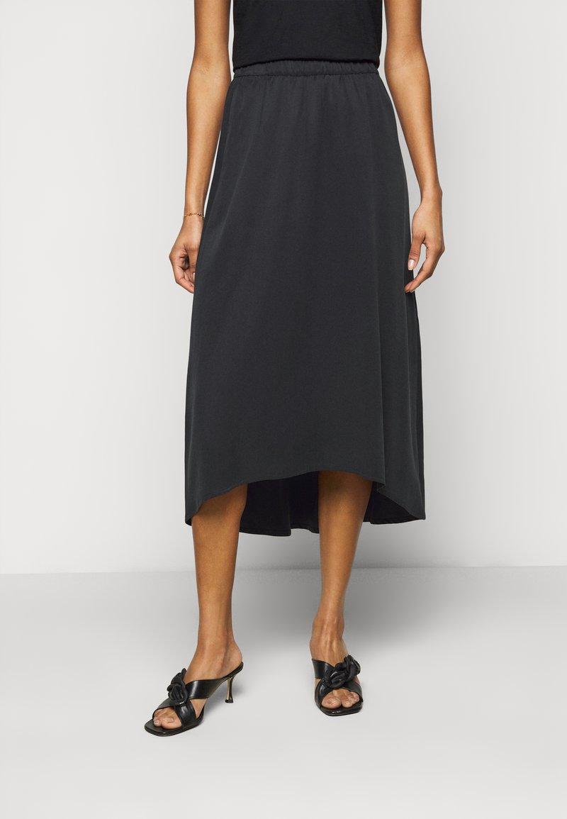 DRYKORN - RAHEL - A-line skirt - schwarz