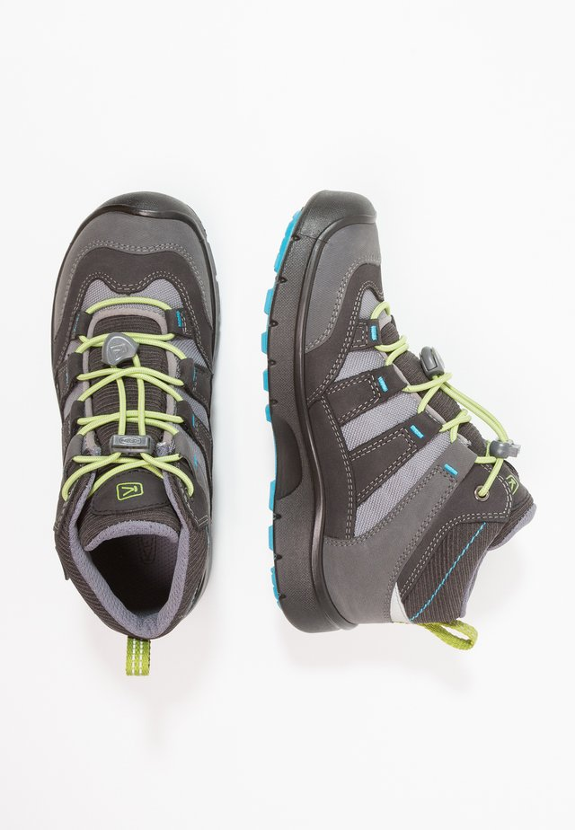 HIKEPORT MID WP - Hiking shoes - magnet/greenery