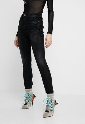 BABHILA HIGH - Jeansy Skinny Fit - black