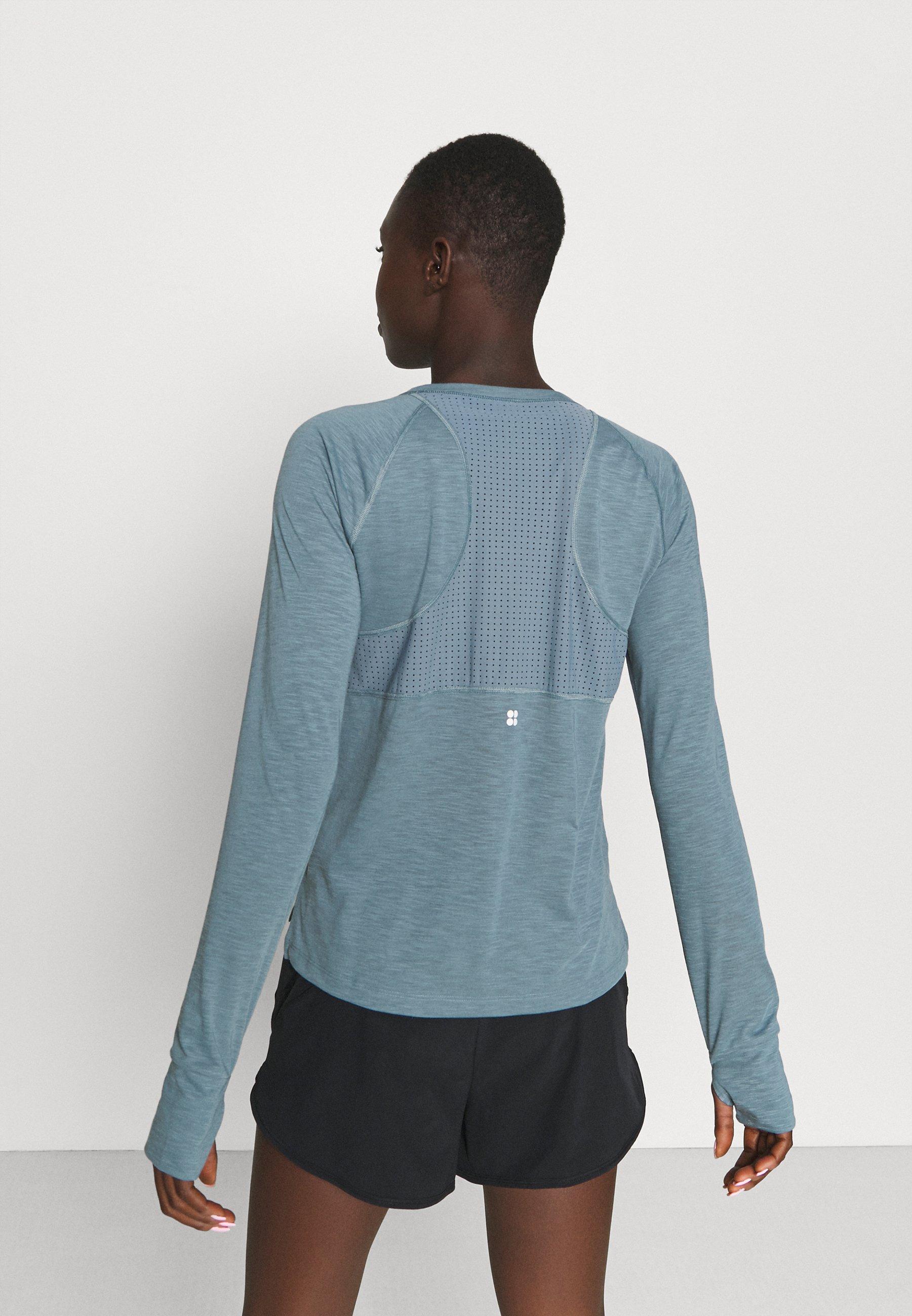Women BREEZE RUNNING LONG SLEEVE - Long sleeved top
