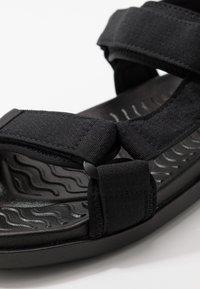 Cotton On - TAKASHI - Chodecké sandály - black - 5