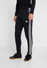 adidas Performance - TANGO AEROREADY CLIMACOOL FOOTBALL PANTS - Pantalones deportivos - black/white - 0