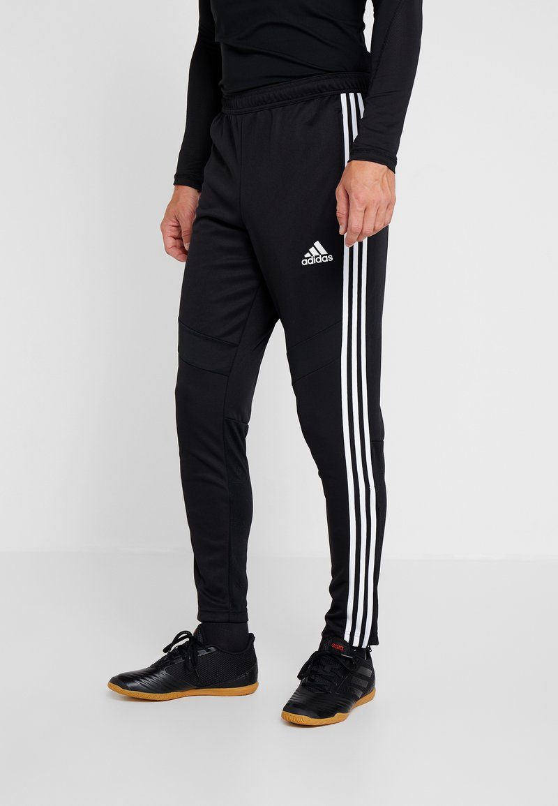 adidas Performance - TANGO AEROREADY CLIMACOOL FOOTBALL PANTS - Pantalones deportivos - black/white