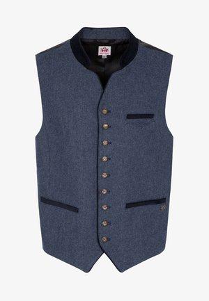 KIESEL - Waistcoat - blue