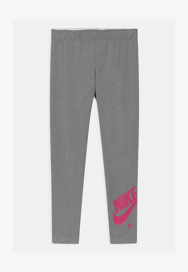 FAVORITES  - Leggings - carbon heather/fireberry