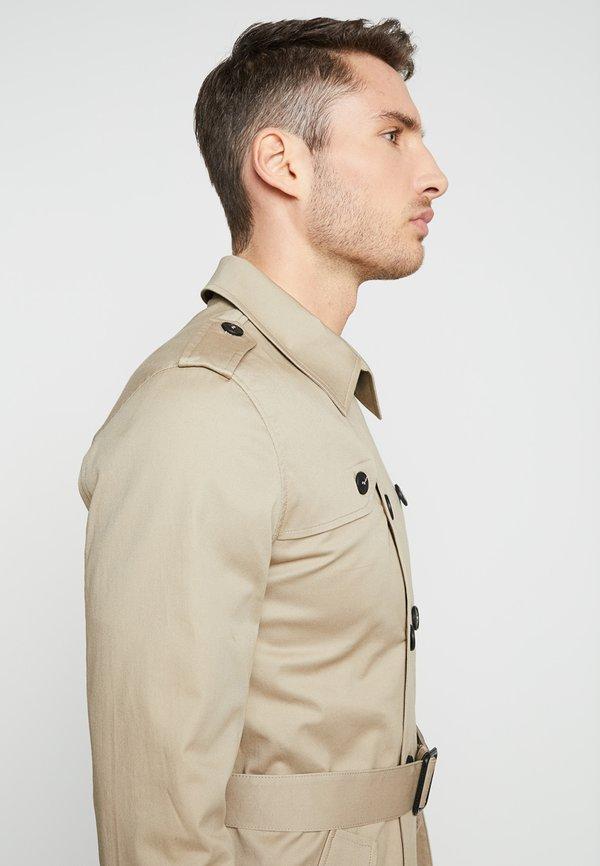 Gianni Lupo Prochowiec - beige/beżowy Odzież Męska NLVH