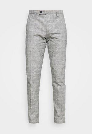BRAVO - Trousers - light grey/blue