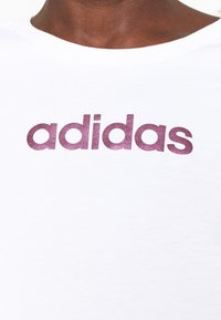adidas Performance - Print T-shirt - white - 4