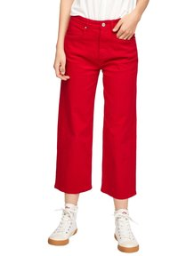 s.Oliver - Trousers - true red - 0