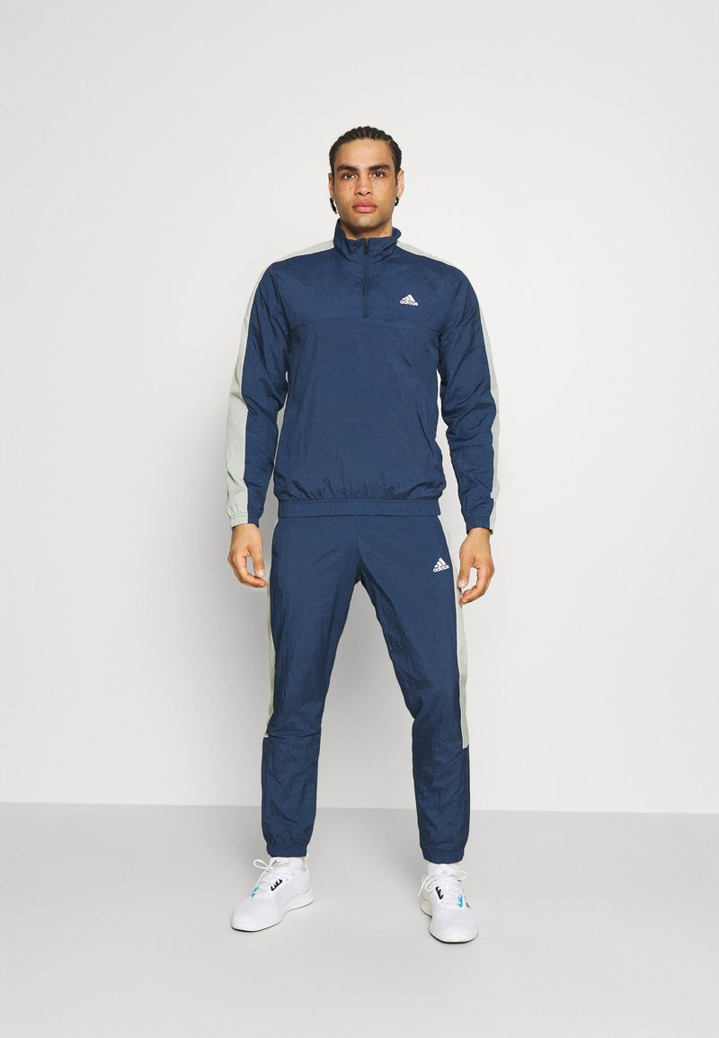 adidas Performance - ZIP - Dres - dark blue