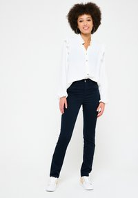 LolaLiza - WITH HIGH WAIST - Jeans Skinny Fit - navy blue - 1