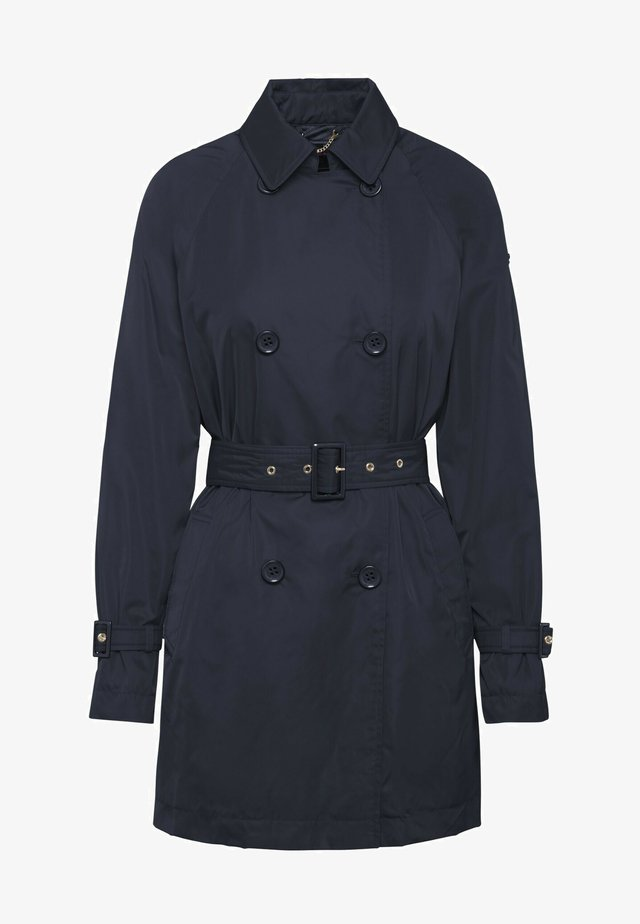 Trenchcoat - gothic blue