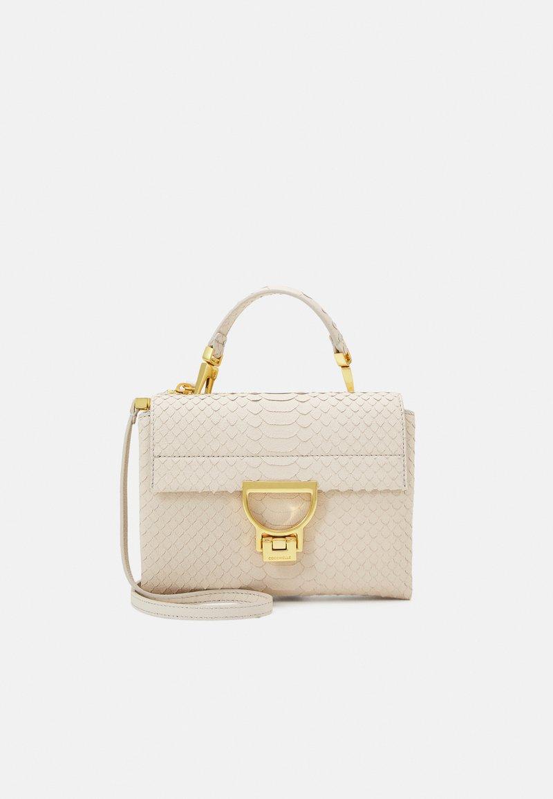 Coccinelle - ARLETTIS PYTHON LULULA - Handbag - white