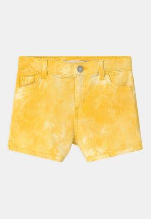 TIE DYE - Denim shorts - golden haze