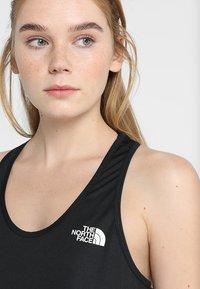 The North Face - WOMENS FLEX TANK - Sports shirt - black - 3
