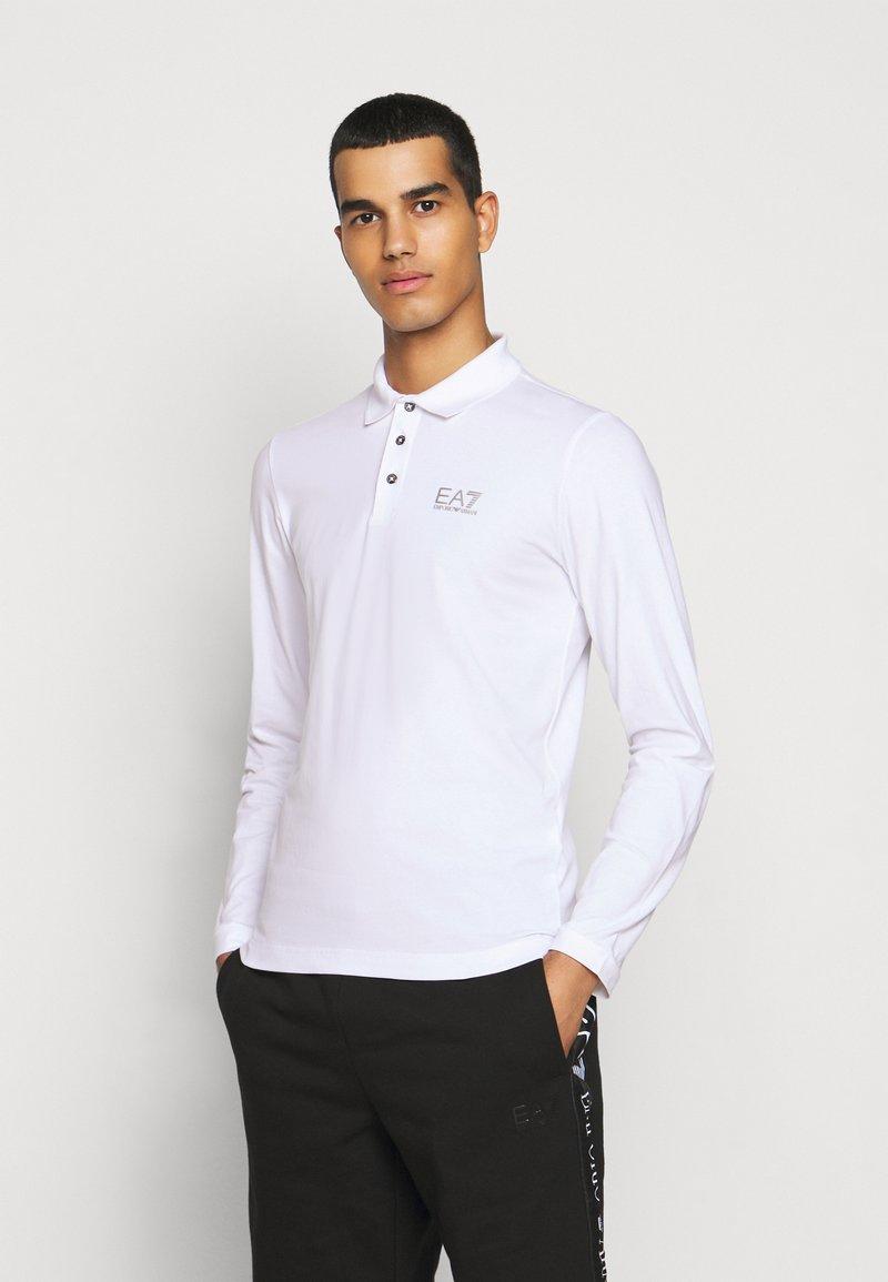 EA7 Emporio Armani - Koszulka polo - white