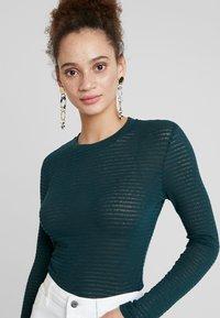 EDITED - JENNA LONGSLEEVE - Long sleeved top - dark green - 4