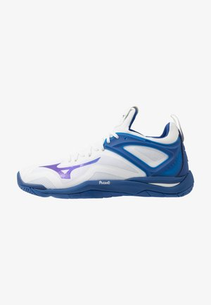 WAVE MIRAGE 3 - Handball shoes - white/true blue