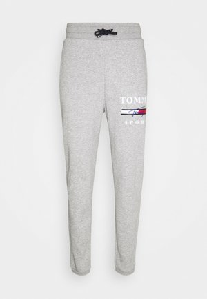 GRAPHIC PANT CUFFED - Pantaloni sportivi - grey