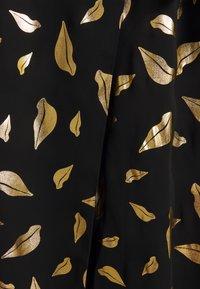 Diane von Furstenberg - NALANI - A-linjainen hame - black/gold - 2
