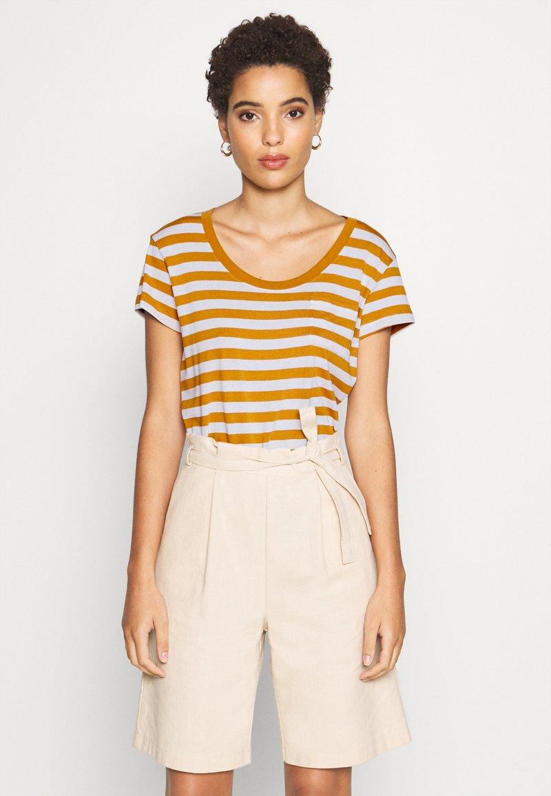 Anna Field - Print T-shirt - white/yellow