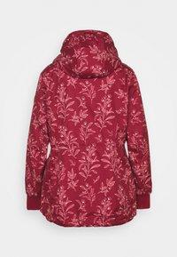 Ragwear Plus - DANKA LEAVES - Krátký kabát - wine red - 1