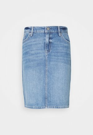 KURZ - Pencil skirt - blue denim