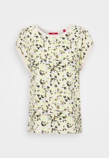 T-shirt print - off-white