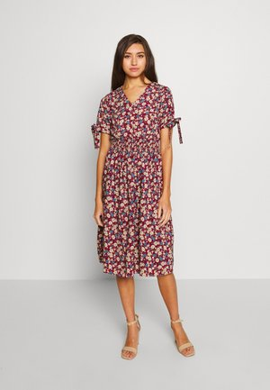 VISORRENTO SMOCK MIDI DRESS - Kjole - winetasting
