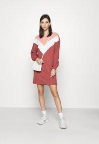 ONLY - ONLASHLEY DRESS  - Kjole - rose dawn/color blocking rose/cd/ap - 1
