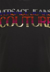 Versace Jeans Couture - DRESS - Trikoomekko - black - 2