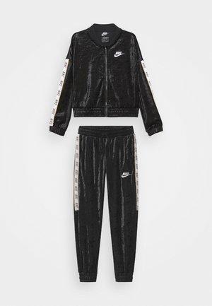 Pantalon de survêtement - black/white/club gold