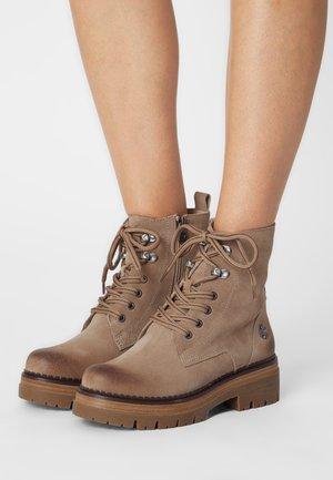 BY GUIDO MARIA KRETSCHMER - Platform ankle boots - desert