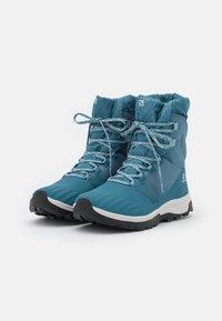 Salomon - VAYA POWDER CSWP - Winter boots - bluestone/mallard blue/black - 1