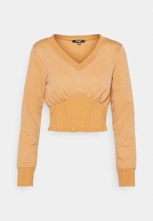 CORSET - Sweatshirt - tan