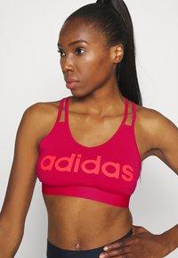 adidas Performance - Sports-BH - pink - 4