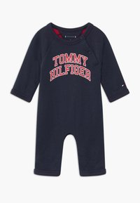 Tommy Hilfiger - BABY COVERALL - Mono - blue - 0