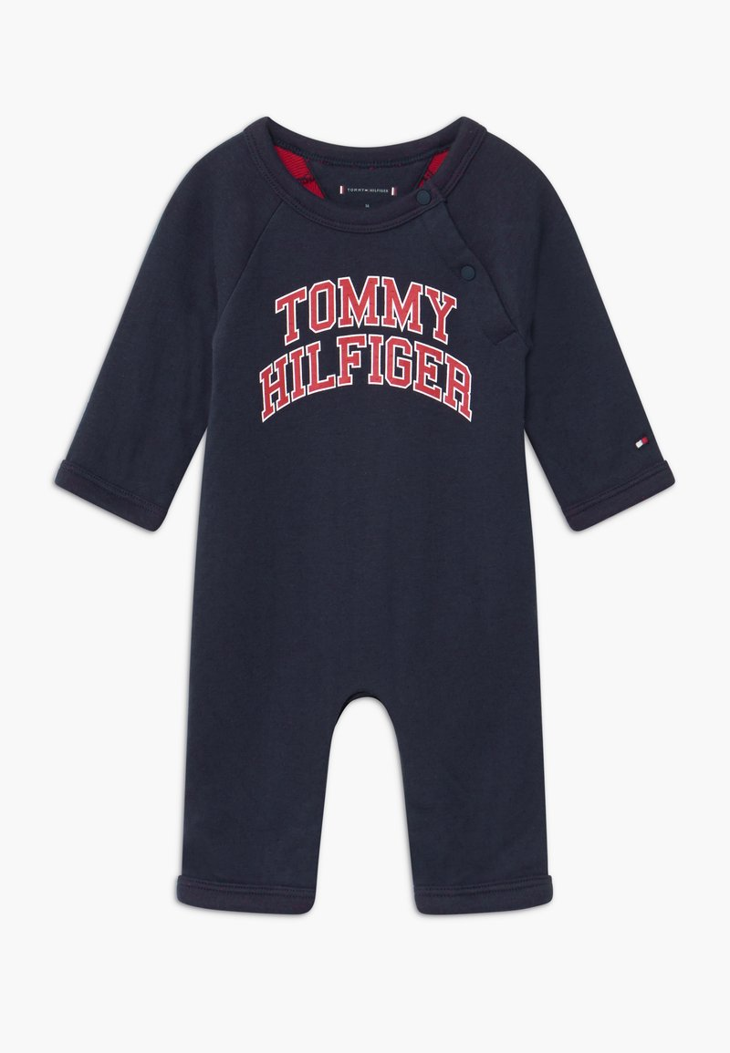Tommy Hilfiger - BABY COVERALL - Mono - blue