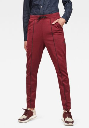 LANC  - Tracksuit bottoms - port red