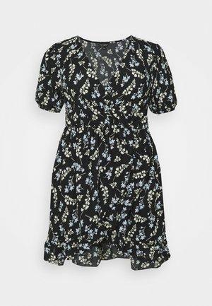 Jerseyklänning - black/multi